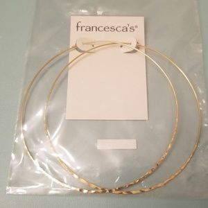 Franchesca's Gold Hoops